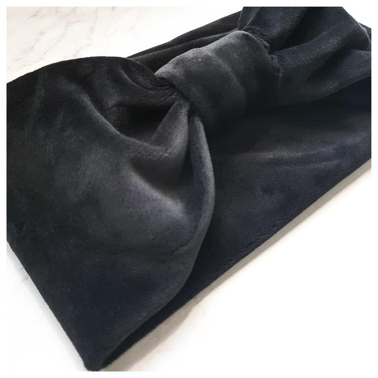 Pannband - Rosie - svart