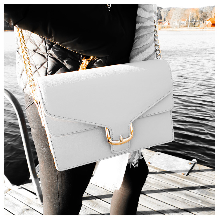 Väska - City Chique - ljusgrå
