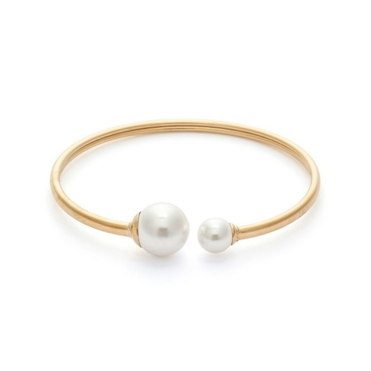 Armband - Liz Pearl Gold