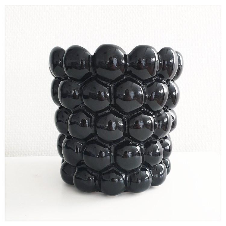 KRUKA - BUBBLES svart