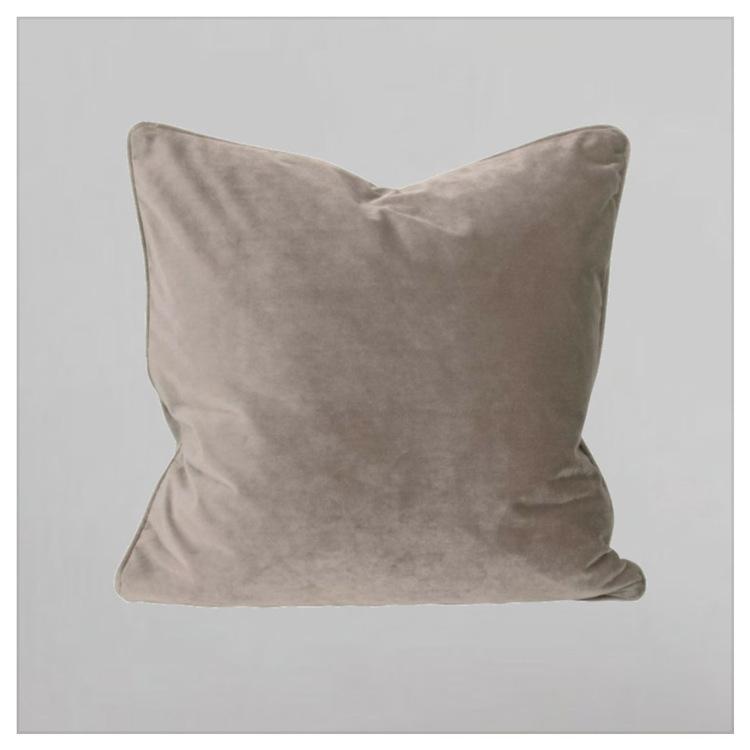 KUDDFODRAL - ELISE ljusgrå/rosa