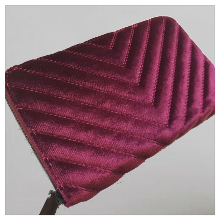 Plånbok - Velvet Rosanna - Burgundy