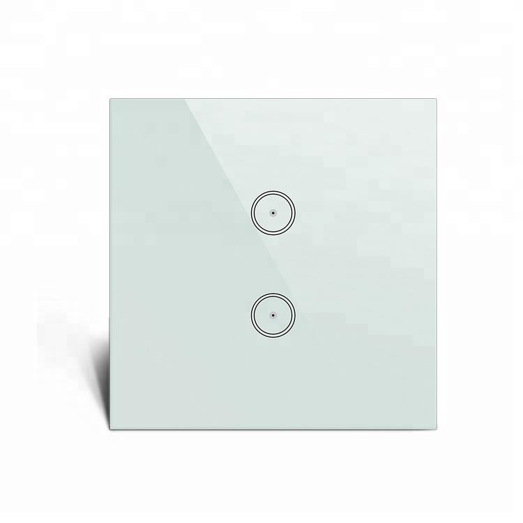 Febite Smarta tryckknapp i härdat glas, 2-polig