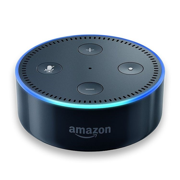 Amazon echo dot, Vit eller Svart