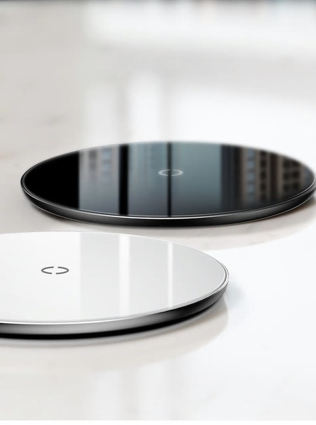 Baseus Simple Wireless Charger, Svart