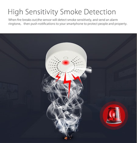 Neo Coolcam Smoke Sensor Wifi