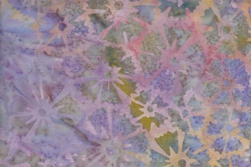 Ljusa pasteller och blom-tryck
