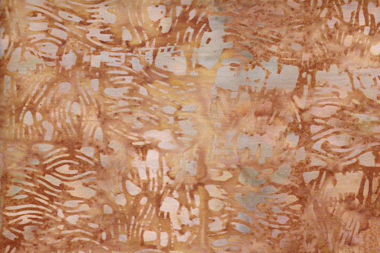 Light brown with print