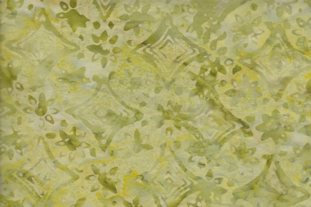 Light lime green with print