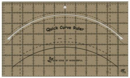 Quick Curve Ruler QCR från Sew Kind of Wonderful