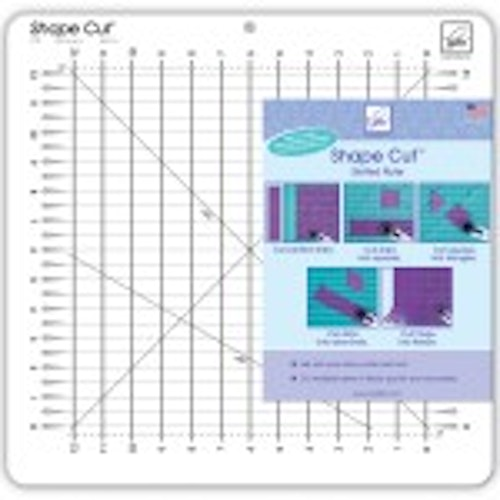 "Shape Cut 12""*12"" från June Tailor"