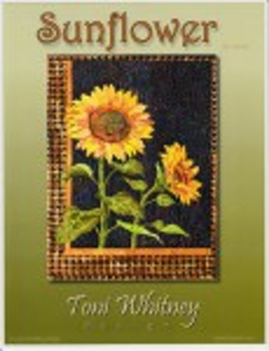 Sunflower. Mönster av Toni Whitney