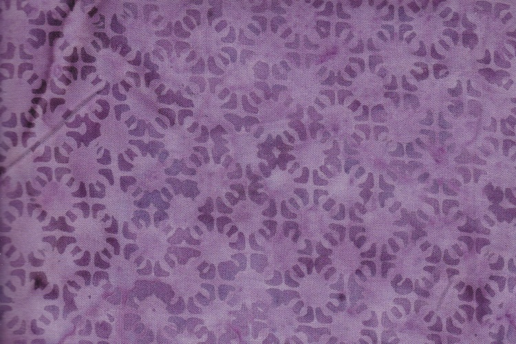 Purple violet with print. 110 cm wide