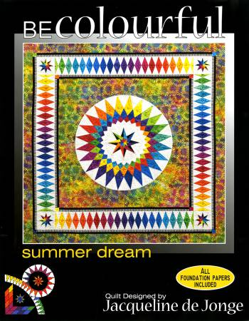 Summer Dream. Pattern by Jacqueline de Jonge