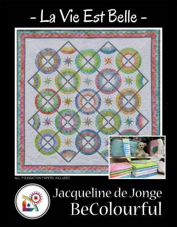 La Vie est Belle. Pattern by Jacqueline de Jonge