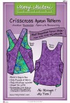 Crisscross Apron Pattern. Pattern on apron
