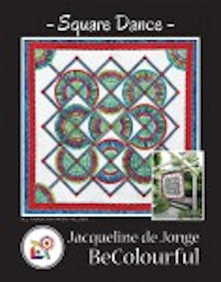 Square Dance. Mönster av Jacqueline de Jonge