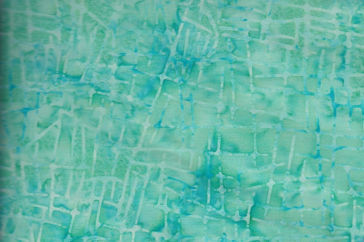 Clear green with light green pattern. Viscose. 140 cm wide
