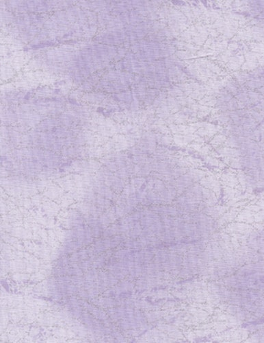 Light purple with silver flakes, cotton, 110 cm wide
