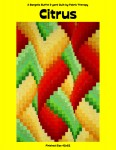 Citrus. Pattern of Quilters clinic