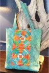 Tropical Pineapple tote. Mönster från Cut Loose Press