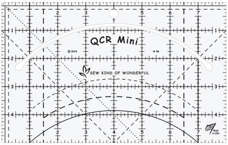 Mini Quick Curve Ruler QCR från Sew Kind of Wonderful