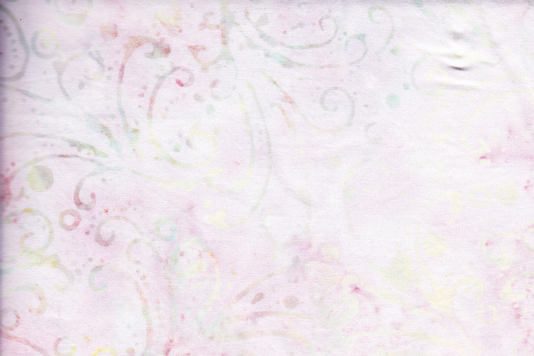Light pink with bright multicolor print