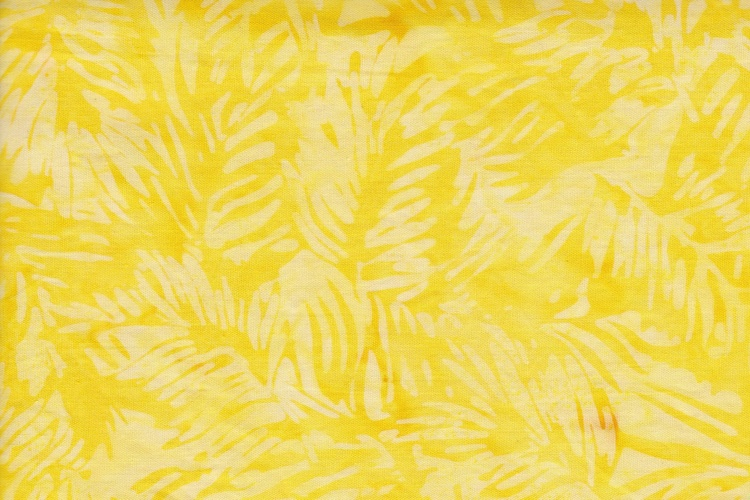 Sun yellow with print