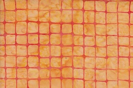 Orange med rött rutnät
