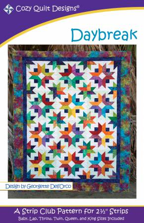"Pattern  ""Daybreak""  from Cozy Quilt Designs"