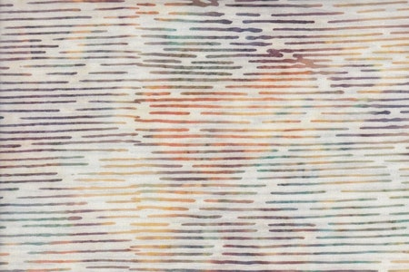 Light color fabric with multi-colored light stripes