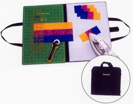 Skärmatta 12*18 inch & strykplatta på andra sida, vikbar, med handtag, från Omnigrid
