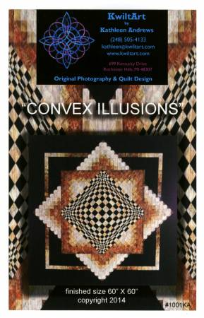 Convex Illusions. Pattern from KwiltArt