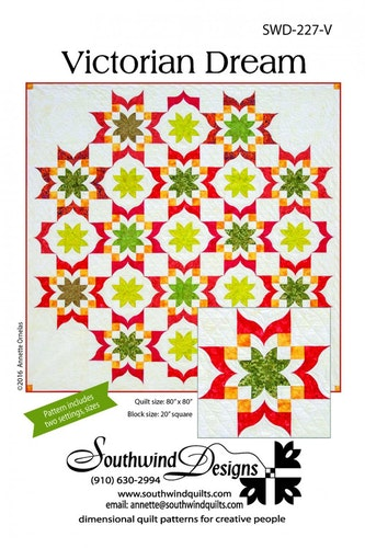 Victorian Dream. Pattern from Southwind Designs