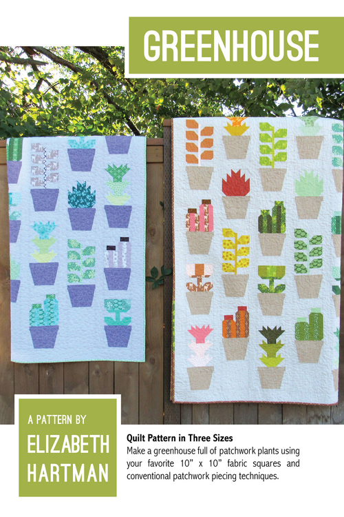 Greenhouse. Pattern by Elizabeth Hartman