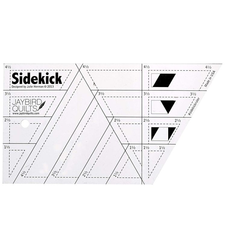 Side kick from Jaybird Quilts