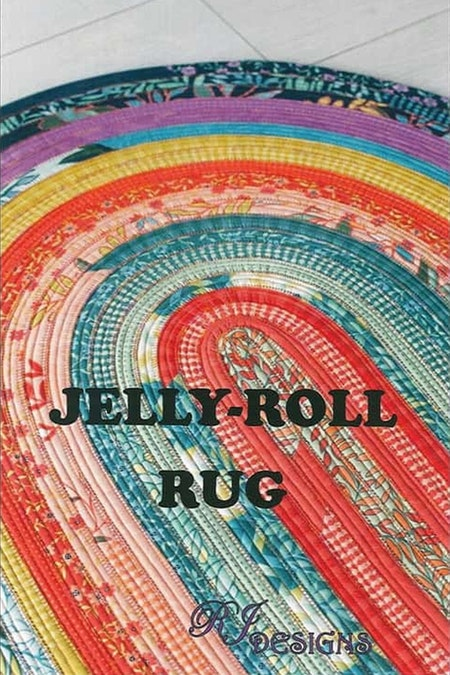 Jelly-Roll Rug. Mönster från RJ Designs