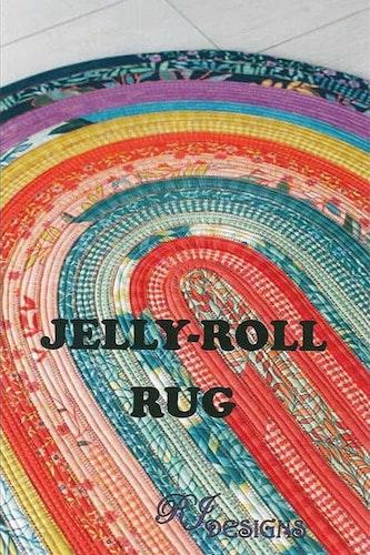 Jelly-Roll Rug. Mönster från RJ Designs