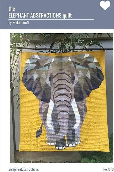 The Elephant. Mönster av Violet Craft