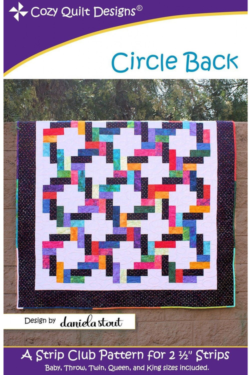"Pattern ""Circle Back"" from Cozy Quilt Designs"