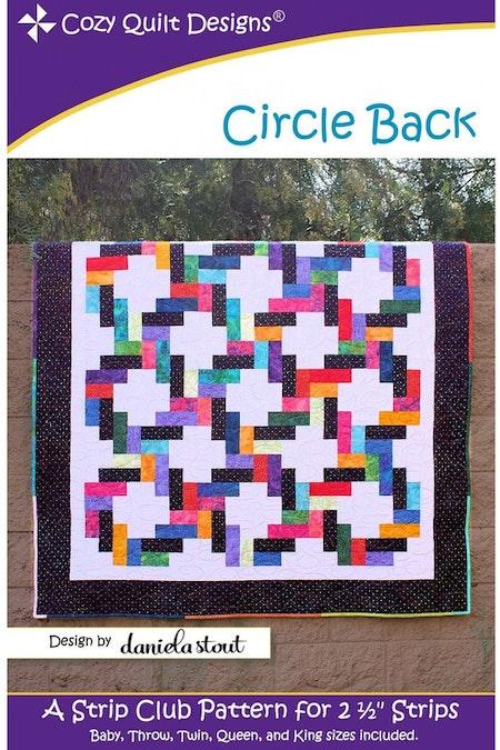 """Mönster """"Circle Back"""" från Cozy Quilt Designs"""