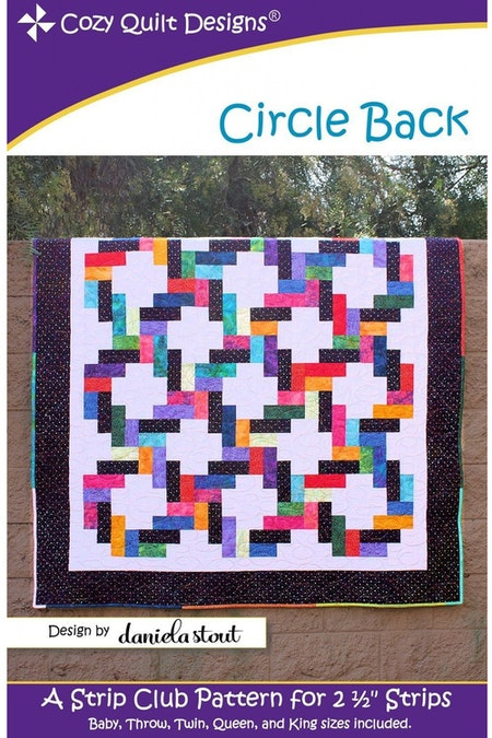 "Mönster ""Circle Back"" från Cozy Quilt Designs"