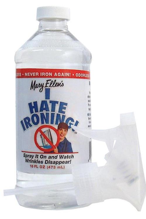 I hate ironing-spray från Mary Ellen. 473 ml