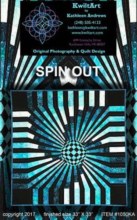 Spin Out. Mönster från KwiltArt