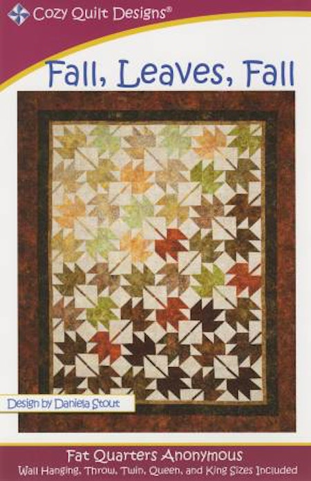 "Mönster ""Fall, Leaves, Fall"" från Cozy Quilt Designs"