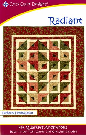 "Pattern ""Radiant"" from Cozy Quilt Designs"
