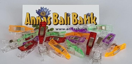 """Miniclips with narrower """"jaw"""" 20 pcs"""