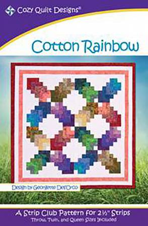 "Mönster ""Cotton Rainbow"" från Cozy Quilt Designs"
