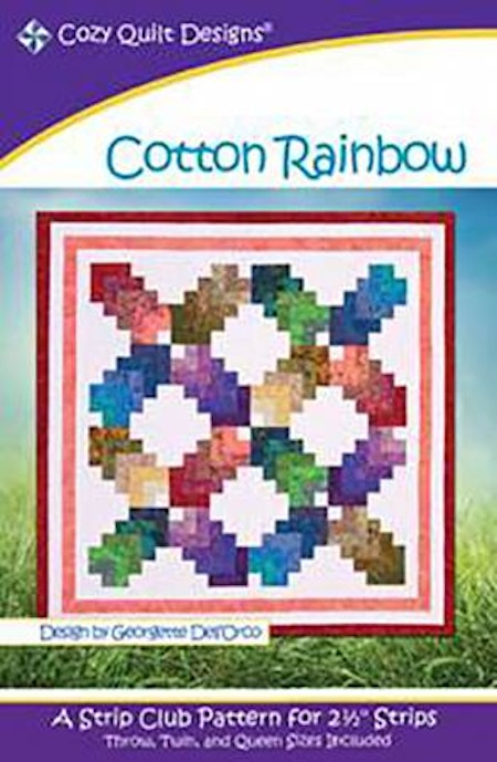 Pattern Cotton Rainbow from Cozy Quilt Designs