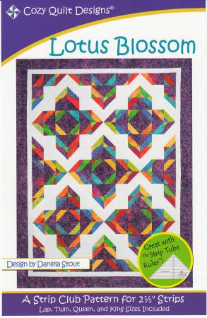 "Patter  ""Lotus Blossom"" from Cozy Quilt Designs"